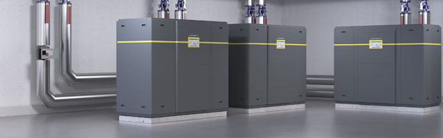 Industry heat pumps of WATERKOTTE